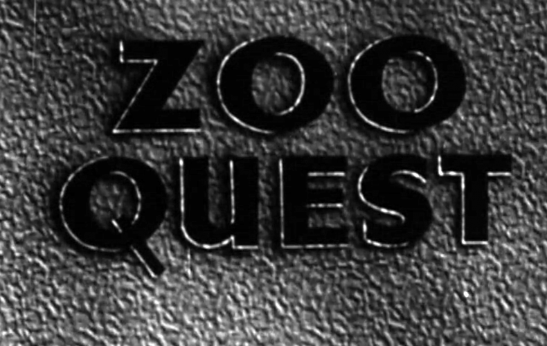 1956 BBC TV Zoo Quest for a Dragon – David Attenborough