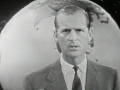 1957 BBC TV The Restless Sphere. Clip. The IGY is the world studying itself.