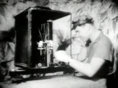 1957 BBC TV The Restless Sphere Clip.